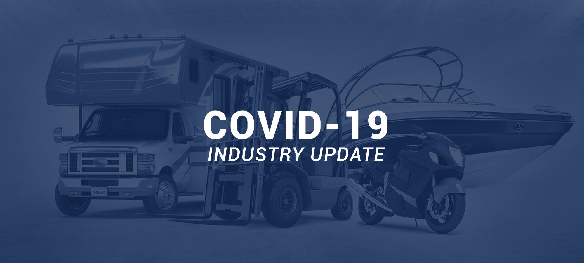 Powersports and RV Analytics During Covid-19 Pandemic - 4/20/2020